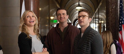 Cameron Diaz y Justin Timberlake juntos de nuevo en el estreno de 'Bad Teacher' en Nueva York