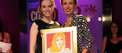 Inma Cuesta, Félix Gómez, Paula Echevarría galardonados en los Premios Pétalo de Rosa de Cosmopolitan 2011