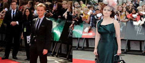 Daniel Radcliffe, Emma Watson y Rupert Grint despiden a Harry Potter en el estreno de la última película en Londres