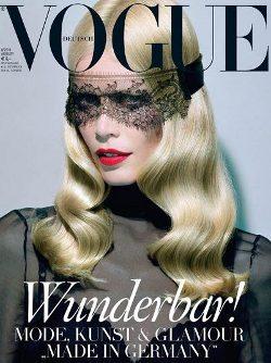 Portada de agosto de Vogue Alemania