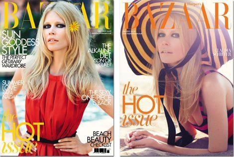 A la izquierda, la portada para suscriptores y a la derecha la versión en quioscos