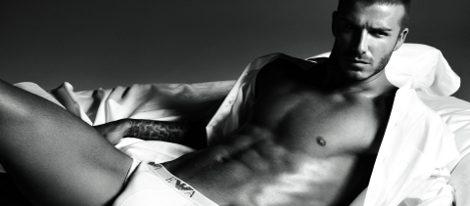 David Beckham en ropa interior para Armani