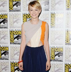 Carey Mulligan en la Comic Con 2011