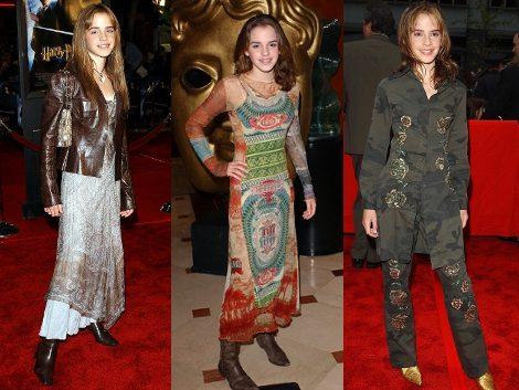 Los peores looks de Emma Watson