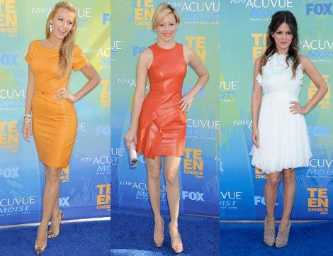 Blake Lively, Elizabeth Banks y Rachel Bilson en los Teen Choice 2011