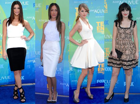 Ashley Greene, Maggie Q., Taylor Swift y Zooey Deschanel