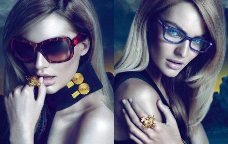 Candice Swanepoel para Versace eyewear