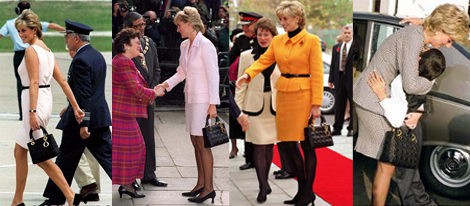 Lady Di, gran embajadora del Lady Dior