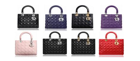 Distintos modelos del Lady Dior