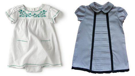 Vestidos de Zara y Castorín