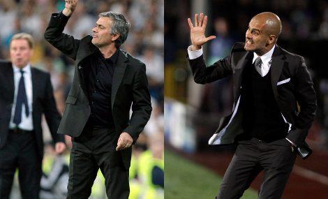 Mourinho y Guardiola, dos estilos en traje