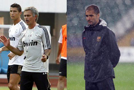 Mourinho y Guardiola, sus estilos informales