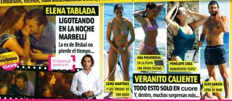 Leire Martínez, vocalista de 'La Oreja de Van Gogh', pillada en topless