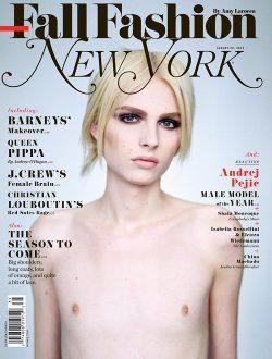 Andrej Pejic, portada de New York