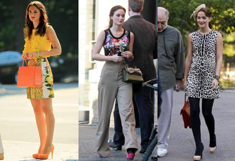 Leighton Meester, la más chic de la quinta temporada de 'Gossip girl'