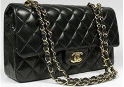 2.55 de Chanel en negro