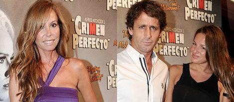 Carolina Bang y Silvia Alonso apoyan a María Castro en el estreno en Madrid de 'Crimen Perfecto'