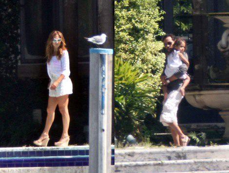 Marc Anthony celebra su 43 cumpleaños con Jennifer Lopez y sus mellizos