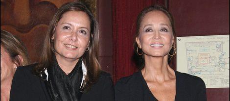 Isabel Preysler con su hermana Beatriz