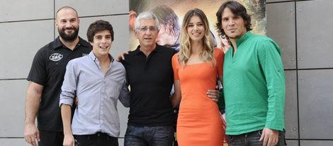 Sergio Peris Mencheta y Natasha Yarovenko presentan 'Capitán Trueno y el Santo Grial'
