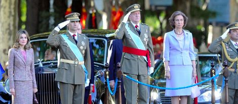 La Familia Real al completo preside el último Día de la Hispanidad bajo el Gobierno de Zapatero