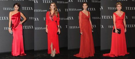 Nieves Álvarez, Pilar Rubio, Chenoa y Tania Llasera asisten a los Premios T de la Moda de Telva 2011