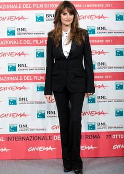 Penélope Cruz promociona en el Festival de Roma 'Venuto al mondo'