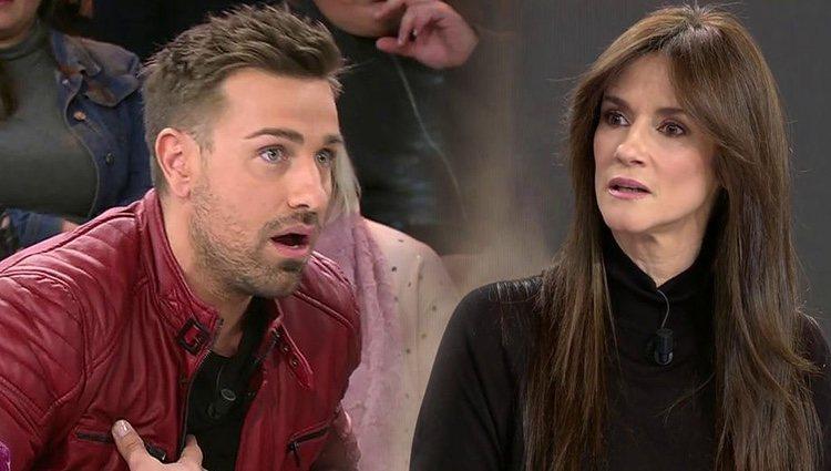 Rafa Mora y Helena enfrentados en 'Sálvame'