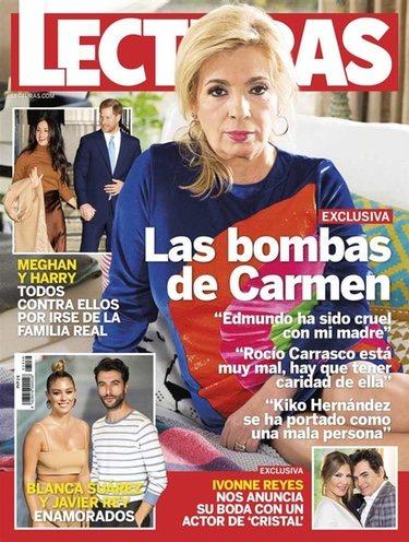 Carmen Borrego en su exclusiva a Lecturas|Foto: Lecturas