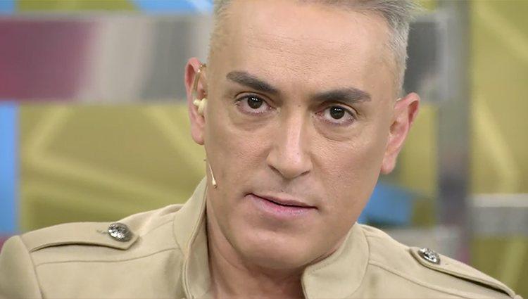Kiko Hernández en 'Sálvame'| Foto: Telecinco.es
