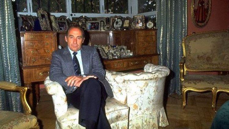 El Príncipe Jorge Bagration-Mukhrani en su residencia de Madrid   Facebook