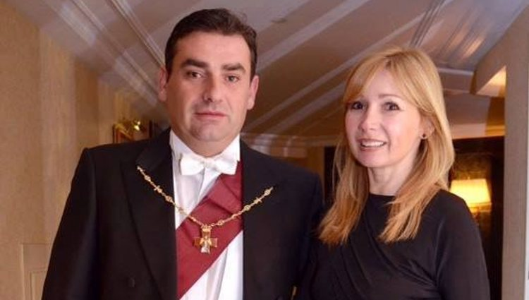 El Príncipe David Bagration con su hermana, la Princesa María Bagration | Facebook