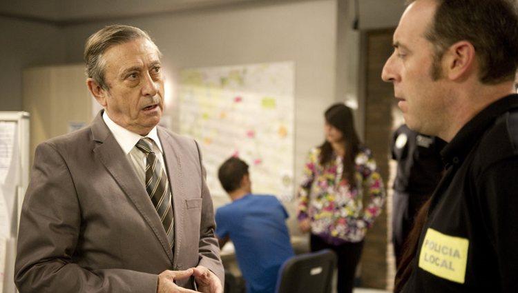 Luis Varela en 'Buen agente'