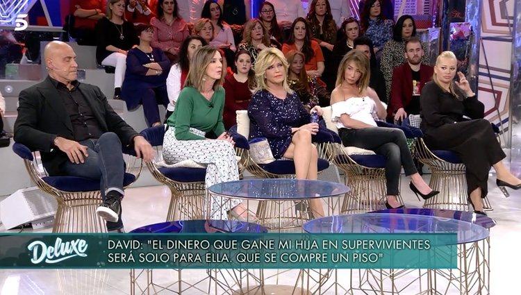 Lydia Lozano respondiendo a su Antonio David Flores/Foto: telecinco.es