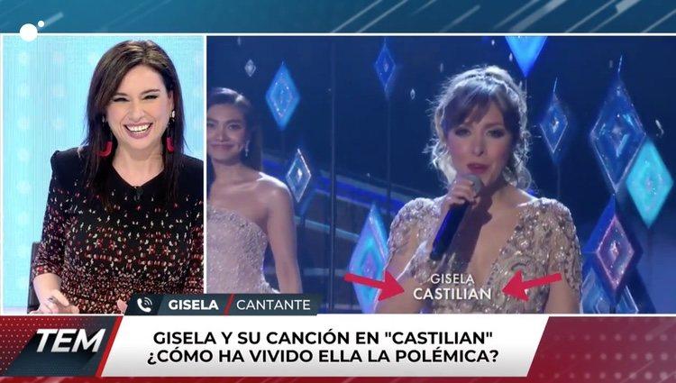 Gisela hablando para 'Todo es mentira'/ Foto: cuatro.com
