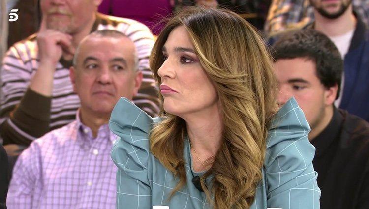 Raquel Bollo en su último día en 'Sálvame' / Telecinco.es