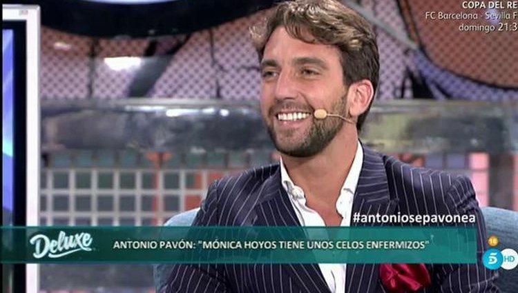 Antonio Pavón en 'Sábado Deluxe' |Foto: telecinco.es