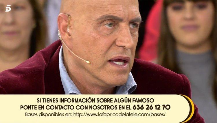 Kiko Matamoros arremete contra Raquel Bollo / Telecinco.es