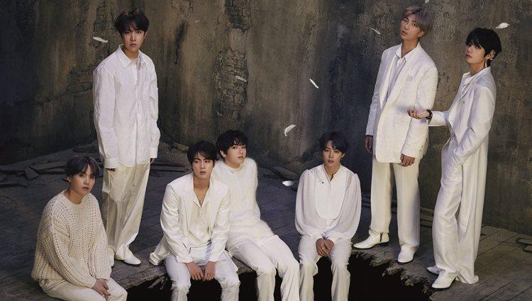 Suga, J-Hope, Jin, Jungkook, Jimin, RM y V en las fotos conceptuales de la versión uno de 'Map of the Soul: 7' | Fuente: Big Hit