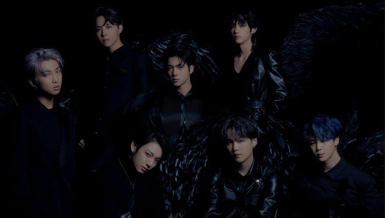 BTS en las fotos conceptuales de la versión dos de 'Map of the Soul: 7' | Fuente: BigHit