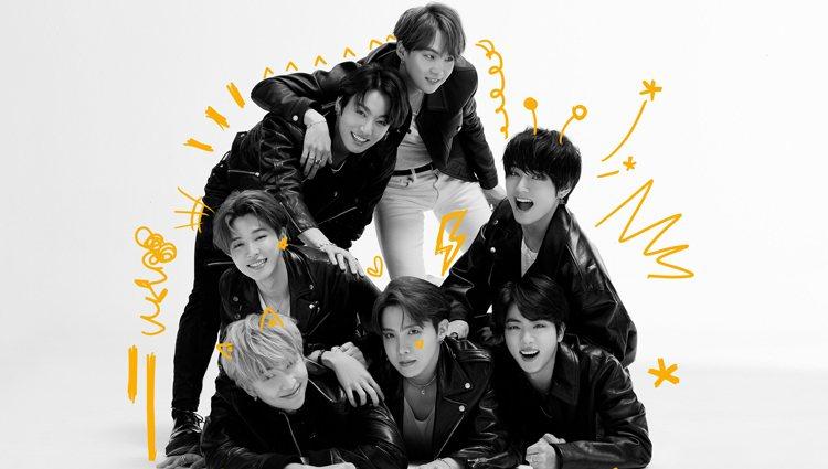 BTS en las fotos conceptuales de la versión cuatro de 'Map of the Soul: 7' | Fuente: Big Hit