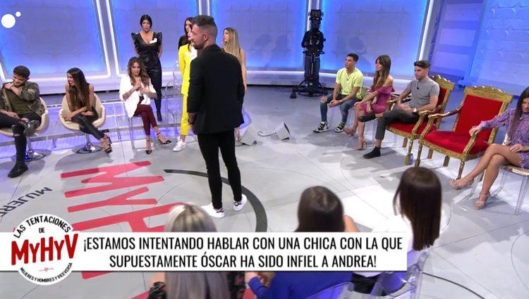Álvaro no quiere a Andrea de pretendienta   Foto: Cuatro