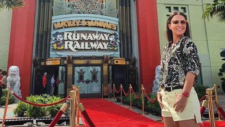 Paula Echevarría en Walt Disney World Orlando/ Foto: Instagram
