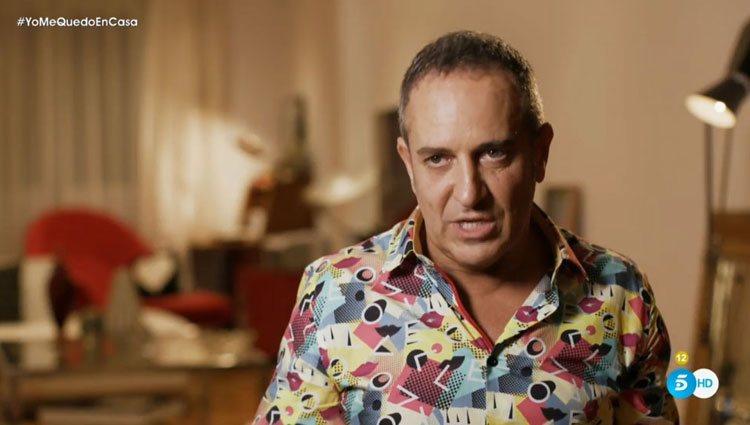 Víctor Sandoval, muy crítico con Carmen Borrego en 'Ven a cenar conmigo: Gourmet Edition'