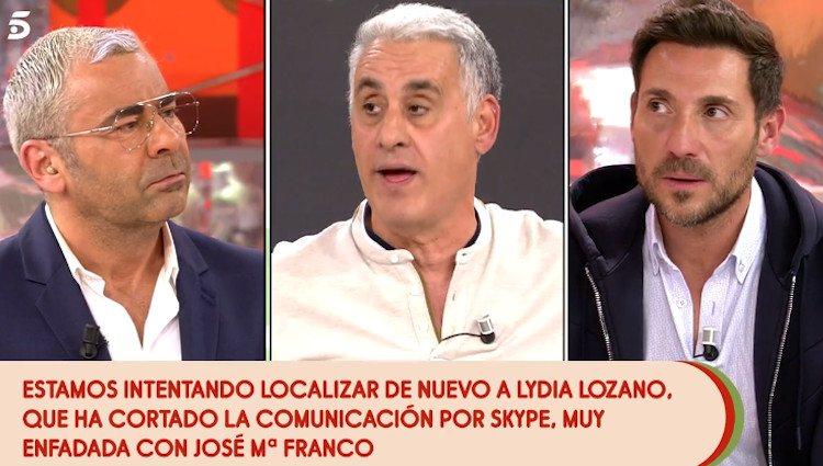 Antonio David y José María Franco en 'Sálvame'|Foto: telecinco.es