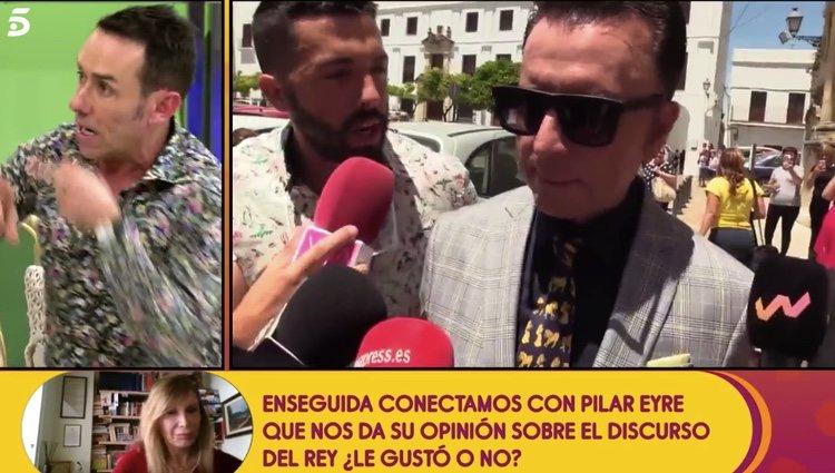 Jesus Manuel cuenta la situación de Ortega/telecinco.es