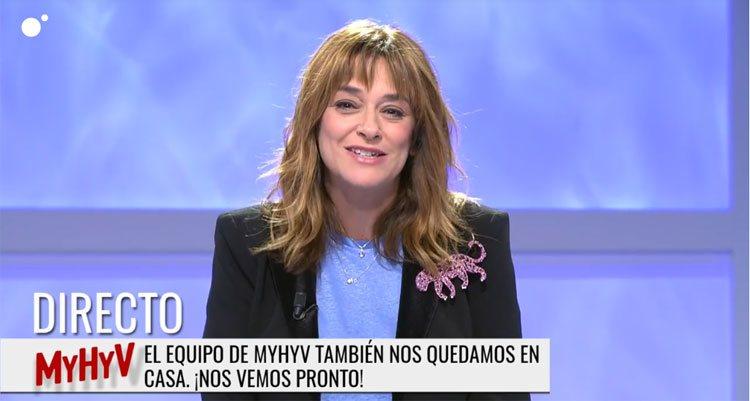 Toñi Moreno despide 'Mujeres y Hombres y Viceversa'
