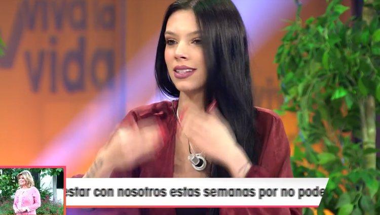 Alejandra Rubio hablando de Rocío Flores | Foto: telecinco.es