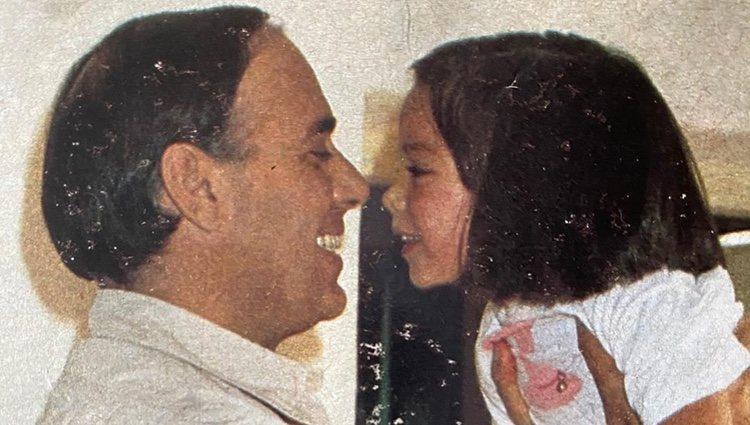 La foto con la que Tamara Falcó felicitó a su padre el Día del Padre / Instagram