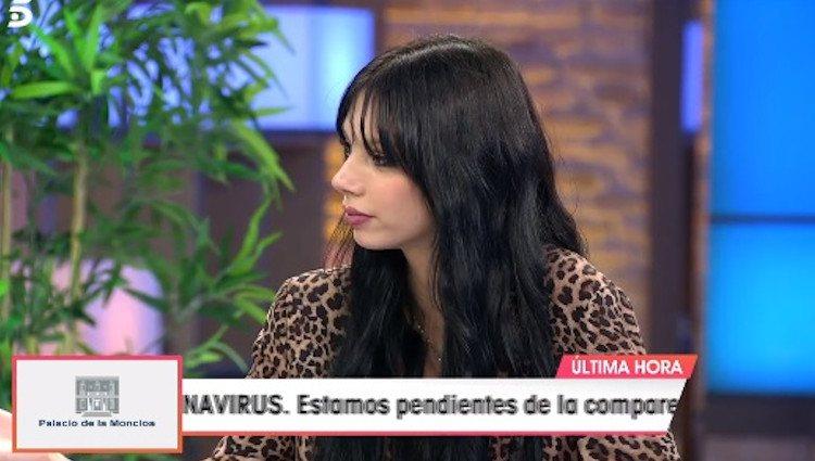 Alejandra Rubio en 'Viva la vida' Foto: telecinco.es